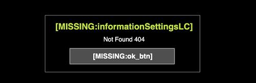 NETENT(ネットエント)のライブルーレットのエラー画面