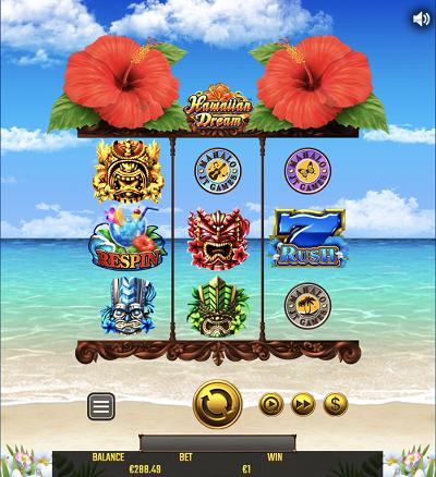ビットカジノでもハワイアンドリームのスロットをプレイできる!