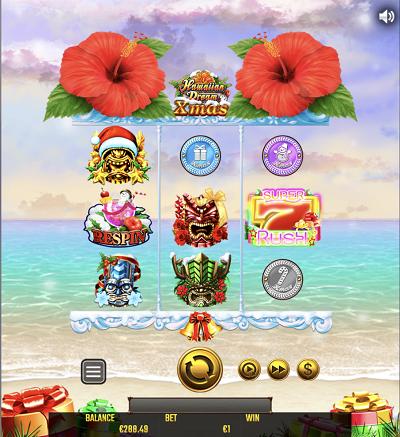 ビットカジノではハワイアンドリームのクリスマスバージョンもプレイできる
